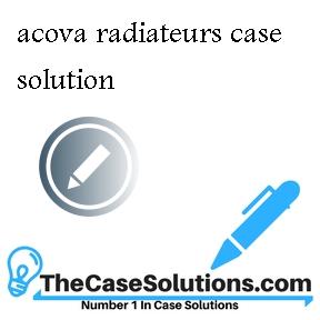 acova radiateurs