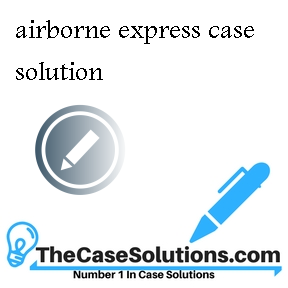 cost structure of airborne express Airborne express (a) data is provided to explain airborne express's cost advantage and how and why has the express mail industry structure evolve in.