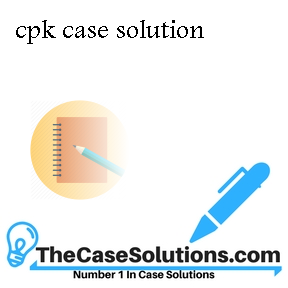 cpk case solution