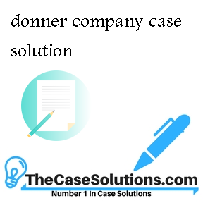donner company case solution