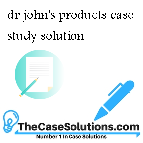 dr john's products case study solution