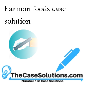 harmon foods case solution