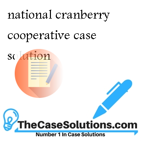 national cranberry cooperative case National cranberry cooperative solutions - free download as word doc (doc / docx), pdf file (pdf), text file (txt) or read online for free national cranberry cooperative case for mba.