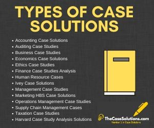 Case Solutions