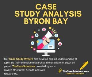 Case Study Analysis Byron Bay
