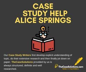 Case Study Help Alice Springs