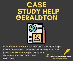 Case Study Help Geraldton