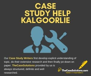 Case Study Help Kalgoorlie