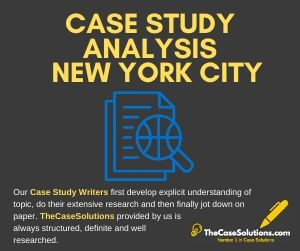 Case Study Analysis New York City
