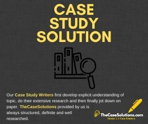Case Study Solution