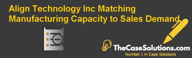 Align Technology Inc.: Matching Manufacturing Capacity to Sales Demand Case Solution