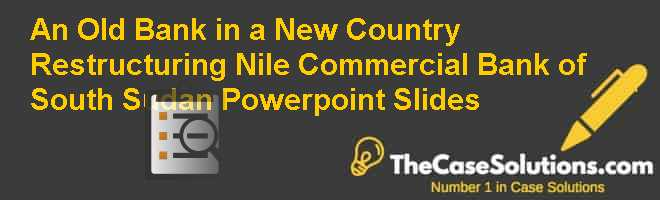 An Old Bank in a New Country: Restructuring Nile Commercial Bank of South Sudan, Powerpoint Slides Case Solution