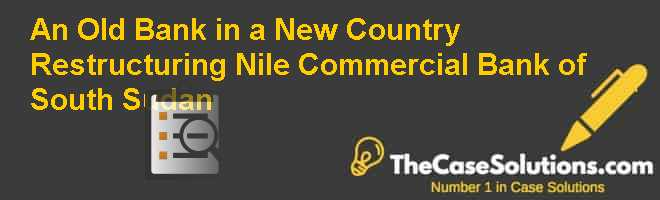 An Old Bank in a New Country: Restructuring Nile Commercial Bank of South Sudan Case Solution