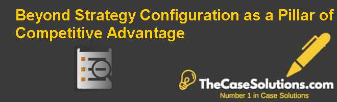 Beyond Strategy: Configuration as a Pillar of Competitive Advantage Case Solution