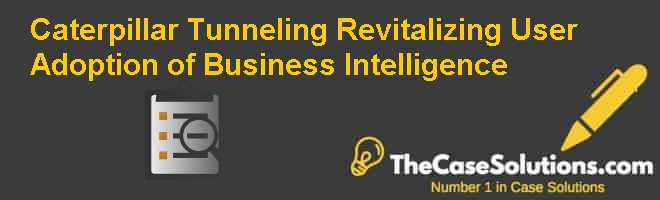 Caterpillar Tunneling: Revitalizing User Adoption of Business Intelligence Case Solution