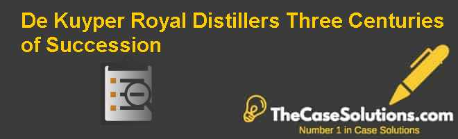 De Kuyper Royal Distillers: Three Centuries of Succession Case Solution