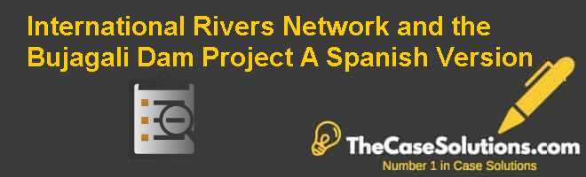 International Rivers Network and the Bujagali Dam Project (A), Spanish Version Case Solution
