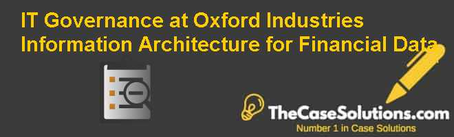 IT Governance at Oxford Industries: Information Architecture