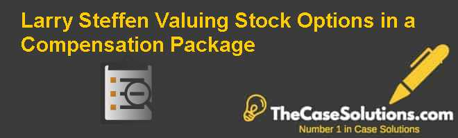 Value of stock options in compensation packages
