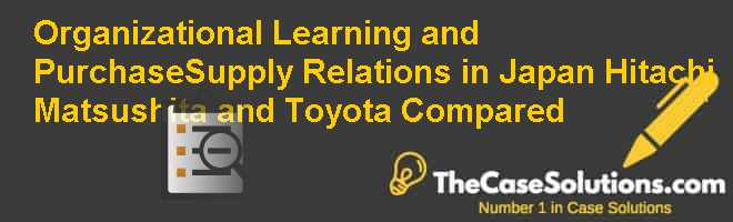toyota as a learning organization Keywords: toyota motor corporation, organizational culture, management model, japanese culture, hofstede, kaizen 1 introduction since 1937, the toyota motor corporation has become one of the largest auto producers in the world and it is still evolving and penetrating different national markets all over the world.