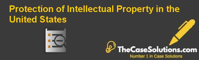 Protection of Intellectual Property in the United States Case Solution
