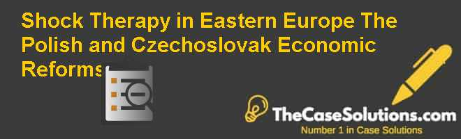 Shock Therapy in Eastern Europe: The Polish and Czechoslovak Economic Reforms Case Solution