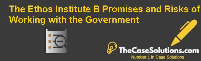 The Ethos Institute (B): Promises and Risks of Working with the Government Case Solution