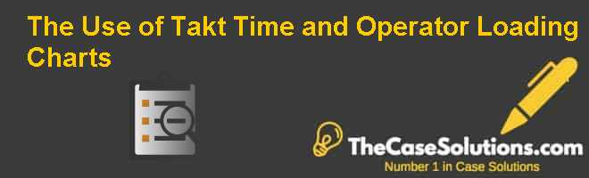 The Use of Takt Time and Operator Loading Charts Case Solution