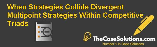 When Strategies Collide: Divergent Multipoint Strategies Within Competitive Triads Case Solution